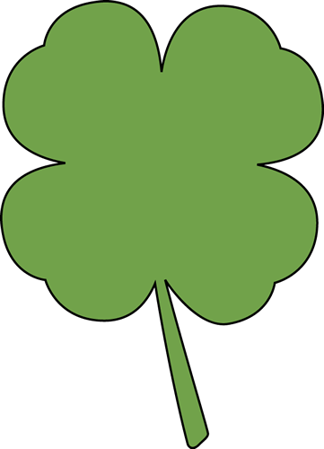 361x500 Four Leaf Clover Clip Art