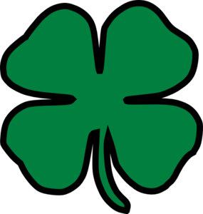 285x300 Four Leaf Clover Clipart