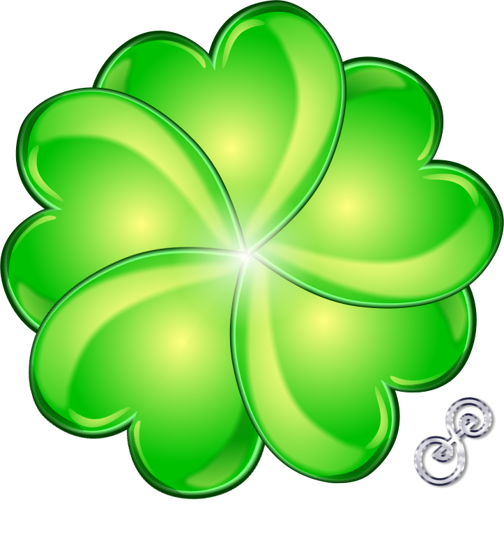 723x769 Four Leaf Clover For Luck!