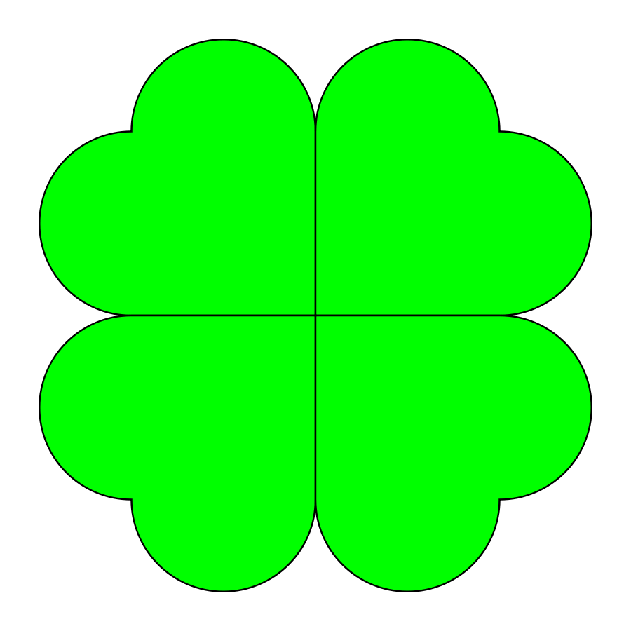 900x900 Four Leaf Clover Png 900px Large Size