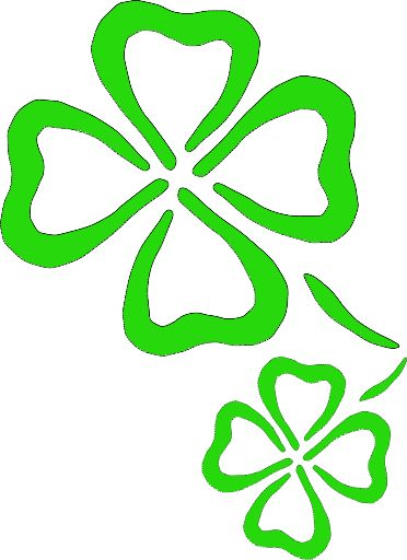 372x512 The Best Clover Clipart Ideas 4 H, Five Leaf