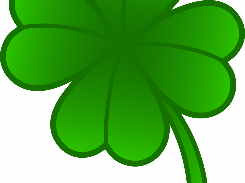 1024x768 Clever Design Ideas Four Leaf Clover Clip Art Green Free