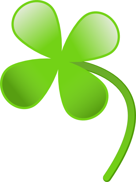 444x594 Four Leaves Clover Clip Art Free Vector 4vector