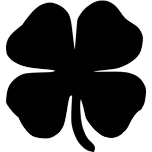 Four Leaf Clover Clipart Free