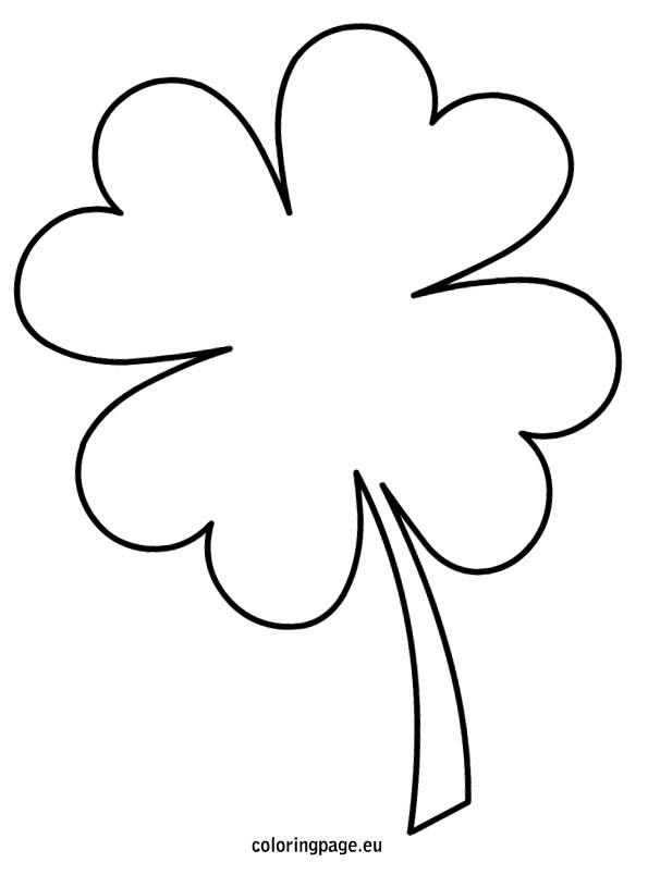 595x804 Four Leaf Clover Free Clover Clipart Public Domain Holiday