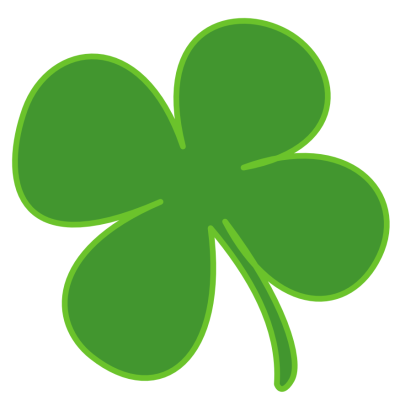 400x400 Free Clover Clipart