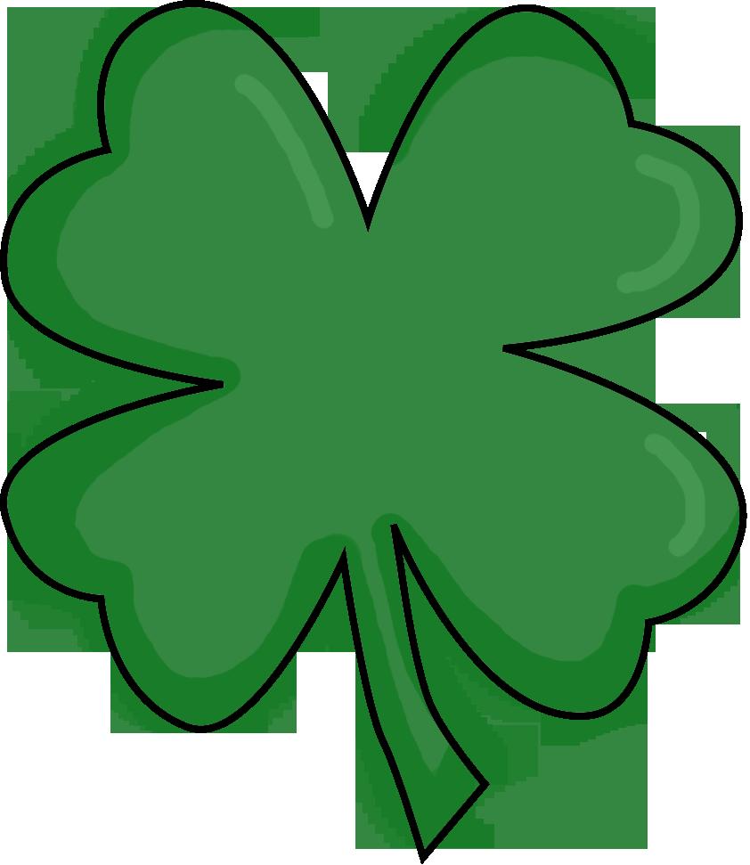 842x971 Four Leaf Clover Clip Art