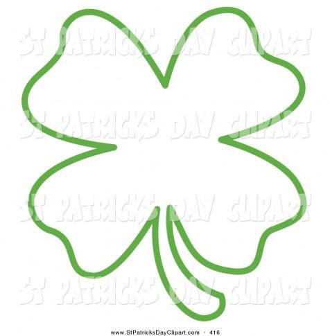 476x485 Four Leaf Clover Tattoos
