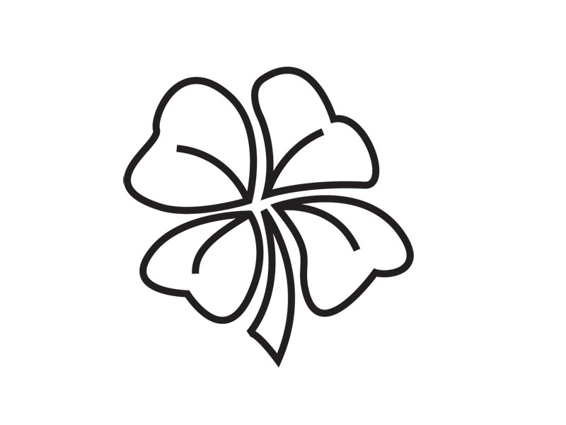 800x600 Skull Four Leaf Clover Tattoo Design In 2017 Real Photo, Pictures