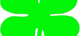 272x125 Four Leaf Clover Outline Free Download Clip Art Free Clip Art