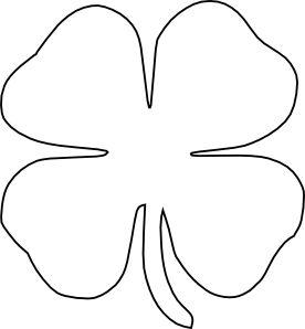 276x298 4 Leaf Clover 0 Ideas About Four Leaf Clover On Clovers Clip Art