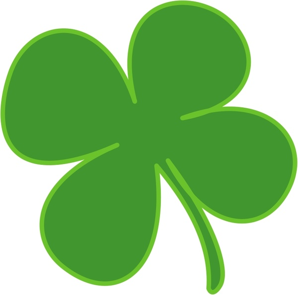 600x594 4 Leaf Clover Free Vector In Open Office Drawing Svg ( Svg