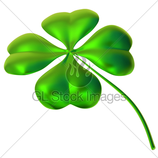 325x325 Four Leaf Clover As Symbol Of Good Luck Gl Stock Images