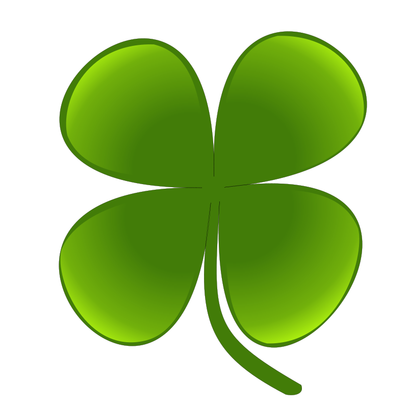 800x800 Four Leaf Clover Free Stock Photo Illustration Of A Four Leaf