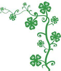 236x276 Printable Medium Four Leaf Clover Pattern. Use The Pattern