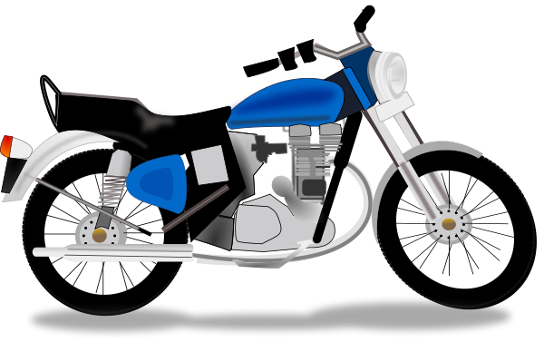 600x377 Motorcycle Clipart Printable