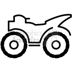 300x300 Royalty Free Quad All Terrain Four Wheeler Vector Icon 398537 Icon