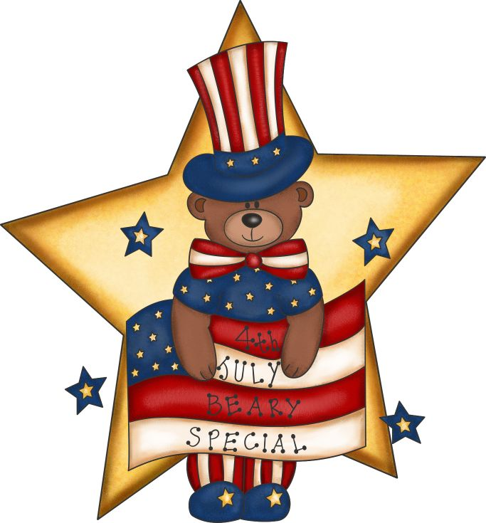 4th of july beach. Fourth clipart free download
