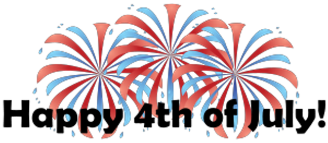 Firework 4th july. Fourth of fireworks clipart
