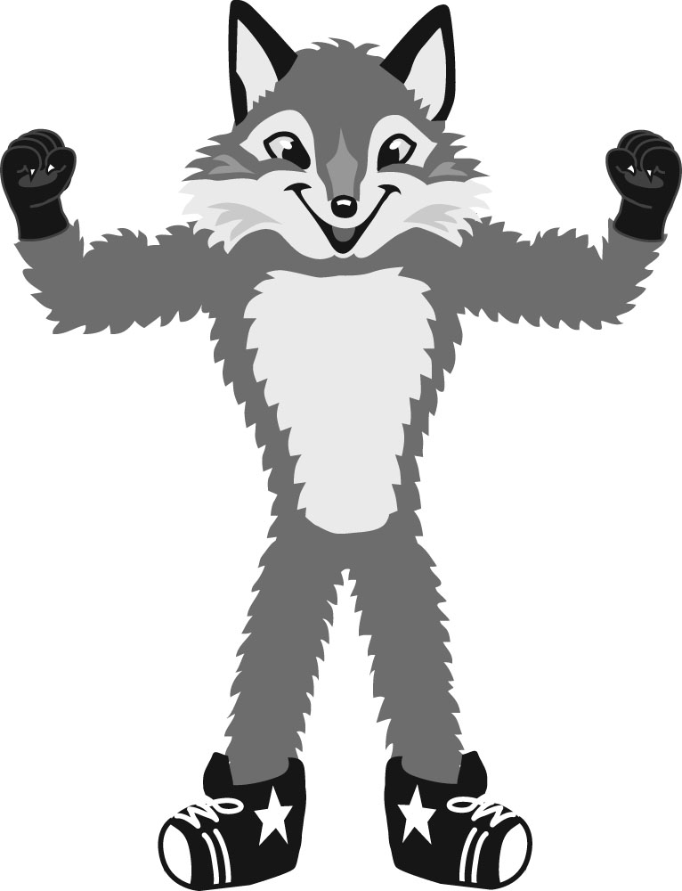 766x1000 Fox Black And White Fox Clip Art Black And White Free Clipart