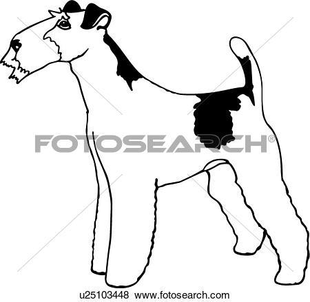 450x439 Fox Terrier Clipart