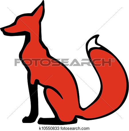 450x456 Fox Clipart Jackal
