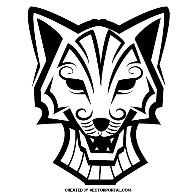 660x660 Fox Mascot Clip Art