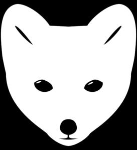 273x299 Fox Face Clip Art