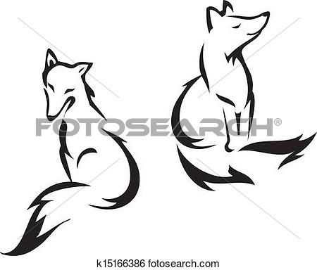 450x384 Fox Clipart Vector Graphics. 6,976 Fox Eps Clip Art Vector