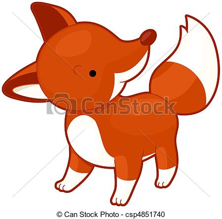 450x444 Top 95 Red Fox Clip Art
