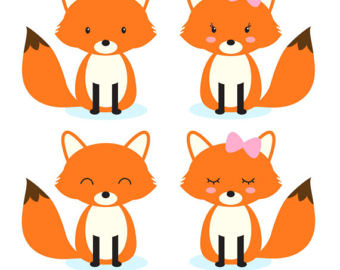 340x270 Vibrant Creative Clipart Fox Free To Use Public Domain Clip Art