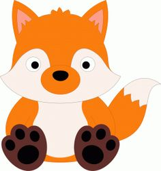 236x250 Baby Fox Clipart