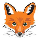 167x170 Fox Head Clip Art Clipart Panda
