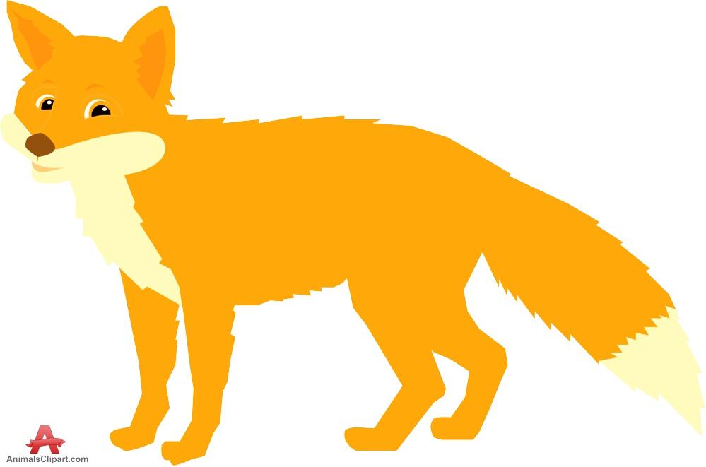 999x661 Fox clipart 5 –