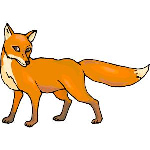 300x300 fox clip art