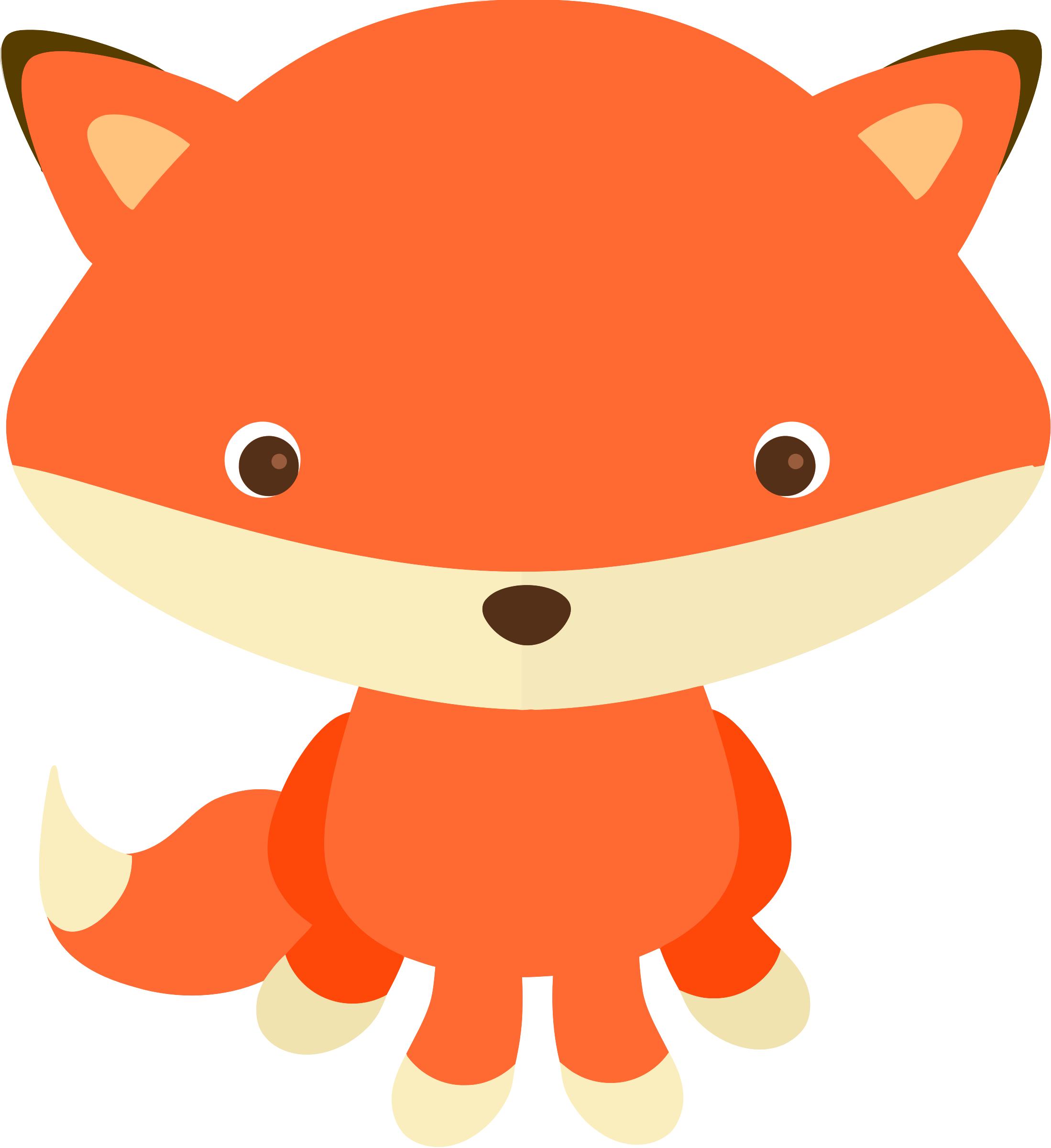 2198x2400 Clipart fox