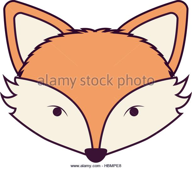 611x540 Fox Face Stock Vector Images