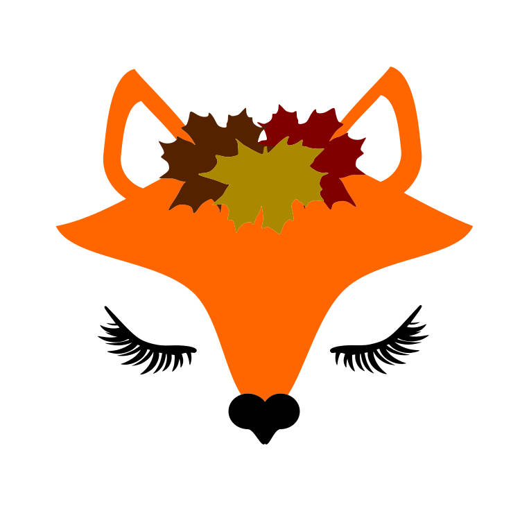 763x737 Fox Svg,fox Face Svg,svg Files, Resting Fox Face Svg, Fox