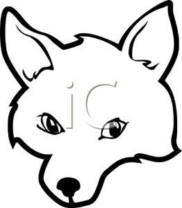 262x300 Fox Clipart Fox Head