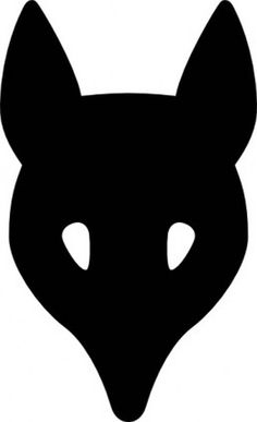 236x387 Fox Head Silhouette Clip Art. Download Free Versions Of The Image