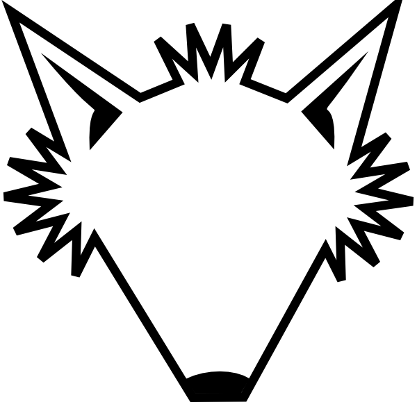 600x579 Blank Transparent Fox Head Clip Art