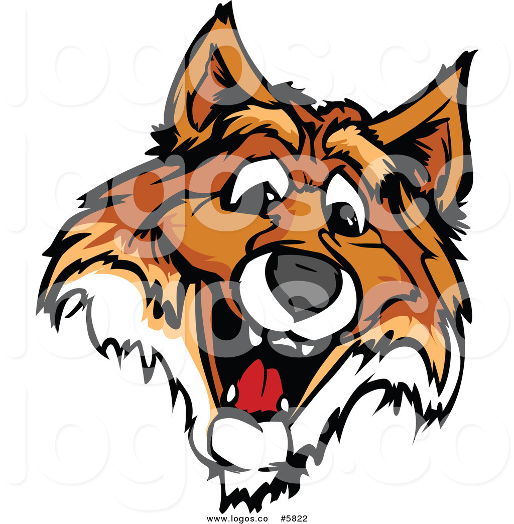 1024x1044 Royalty Free Vector Of A Logo Of A Happy Fox Face By Chromaco