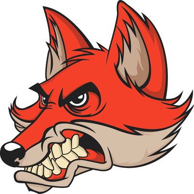 400x401 Fox Cliparts