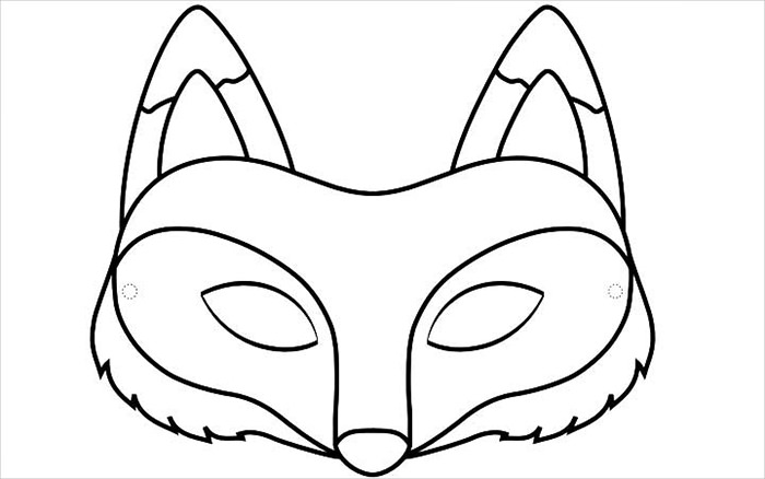 700x438 Fox Clipart Face Mask