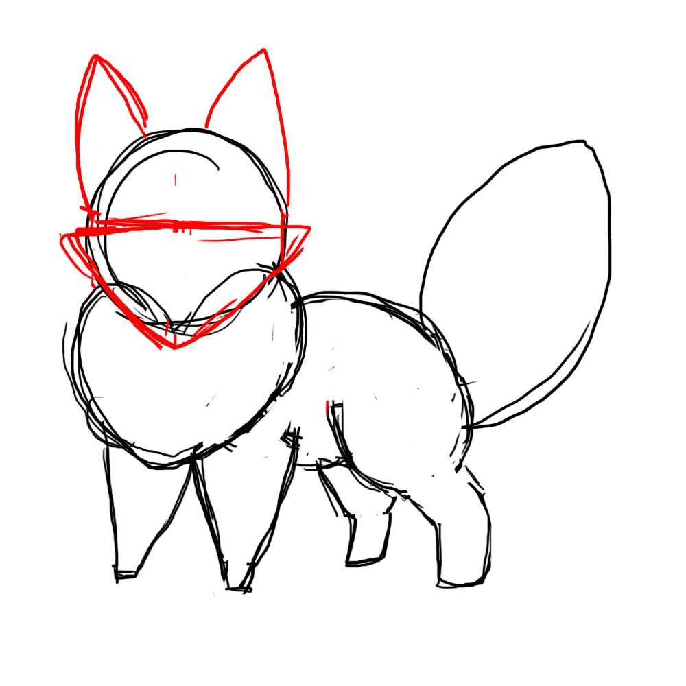 1000x1000 How To Draw A Chibi Fox Clipart Panda