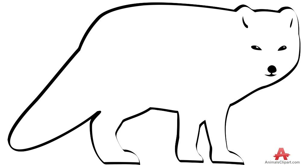 999x548 Arctic Wolf Clipart Fox Face 2322097