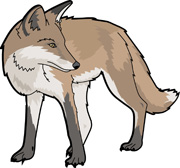 180x168 Free Fox Clipart