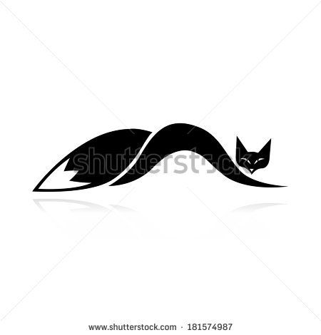 450x470 32 best Fox Silhouette Tattoo images Silhouette