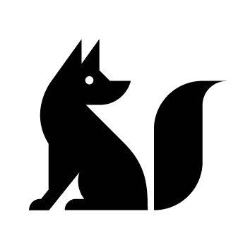 354x354 Silhouette Fox