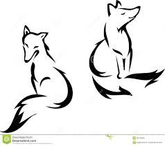 238x212 Best 25+ Fox silhouette ideas Squirrel silhouette